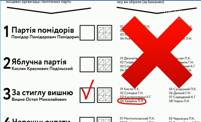 Местные выборы-2020. Как заполнить бюллетень нового образца, чтобы голос засчитали, фото-2