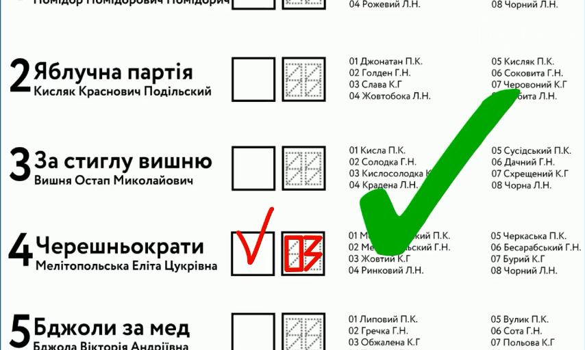 Местные выборы-2020. Как заполнить бюллетень нового образца, чтобы голос засчитали, фото-3