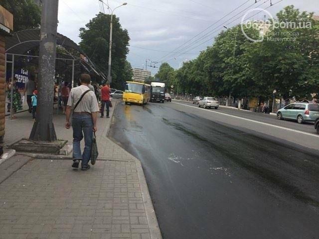 В Мариуполе питьевая вода заливала проспект Металлургов (ФОТО), фото-3
