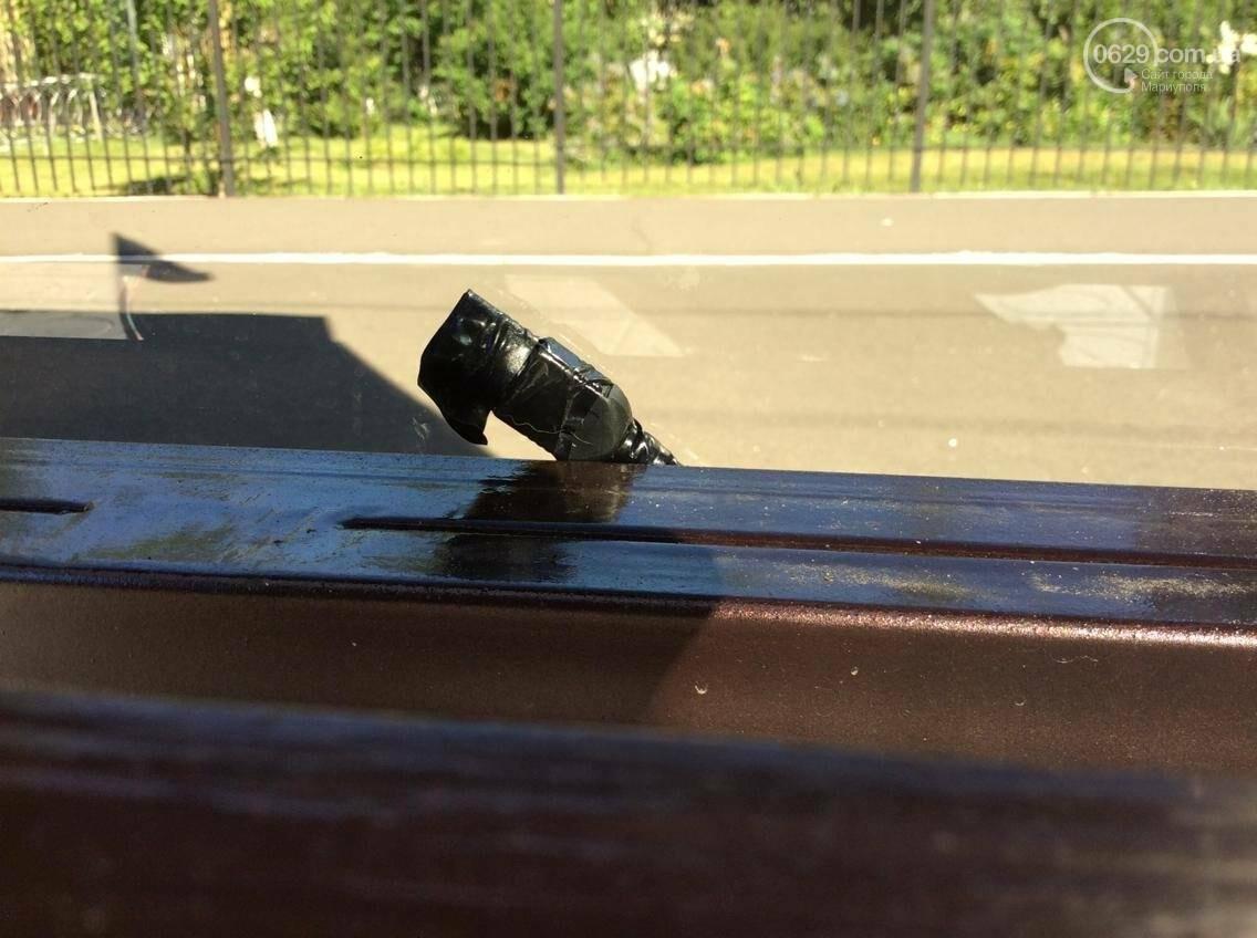 """Утром на """"умной остановке"""" в Мариуполе невозможно было зарядить телефон (Фотофакт, ВИДЕО), фото-1"""