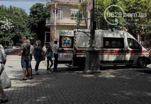 В центре Мариуполя пассажирка  автомобиля Mazda разбила голову (ФОТО), фото-2