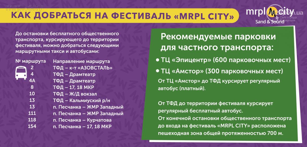 """Общая информация о проведении музыкального фестиваля """"MRPL City 2017"""", фото-1"""