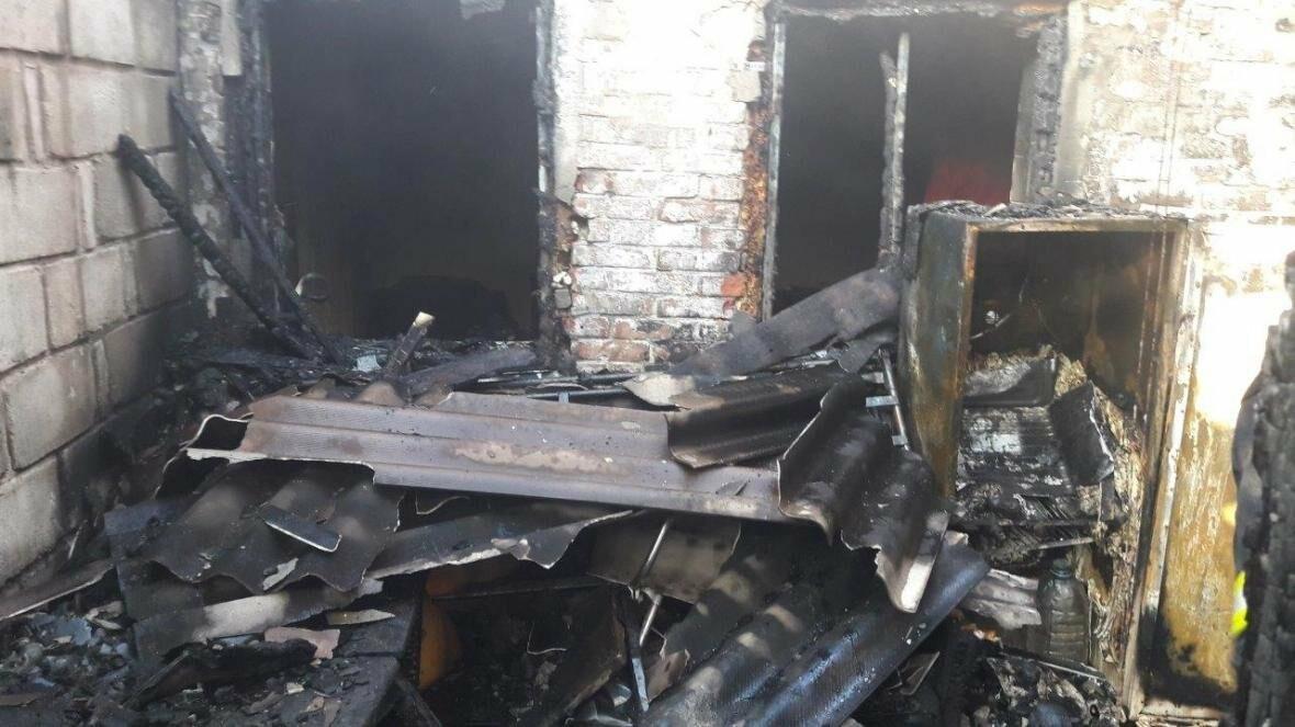 В Мариуполе сгорел жилой дом (ФОТО), фото-3