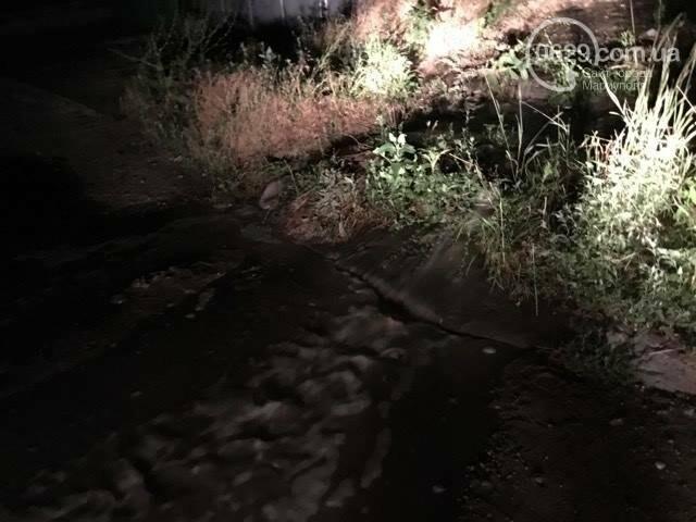 В Мариуполе питьевая вода затопила пр. Лунина (ФОТО+ВИДЕО), фото-9