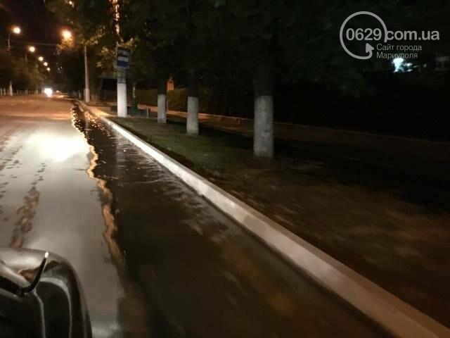 В Мариуполе питьевая вода затопила пр. Лунина (ФОТО+ВИДЕО), фото-5