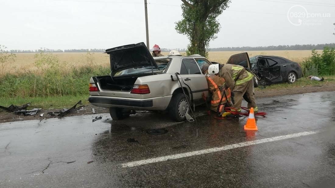 В страшной аварии под Мариуполем погибло два человека. Один в тяжелом состоянии (ФОТО), фото-8