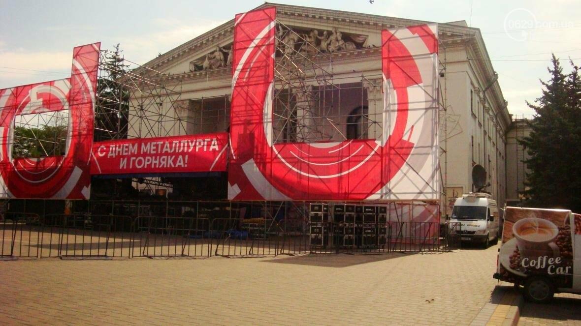 В Мариуполе готовят сцену ко Дню металлурга (ФОТОФАКТ), фото-4