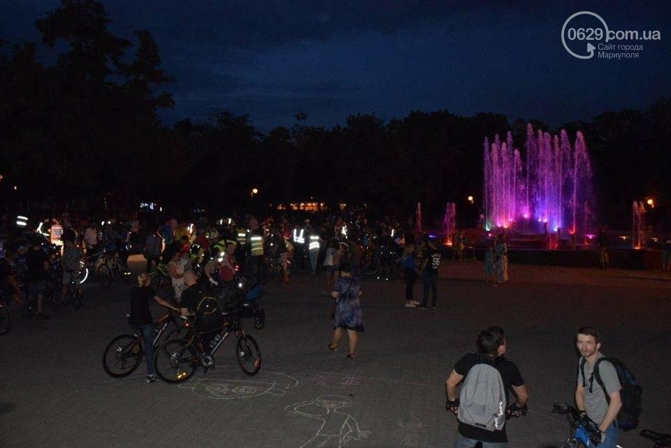 Мариупольские велосипедисты провели ночной заезд, чтобы их заметили(ФОТО), фото-5