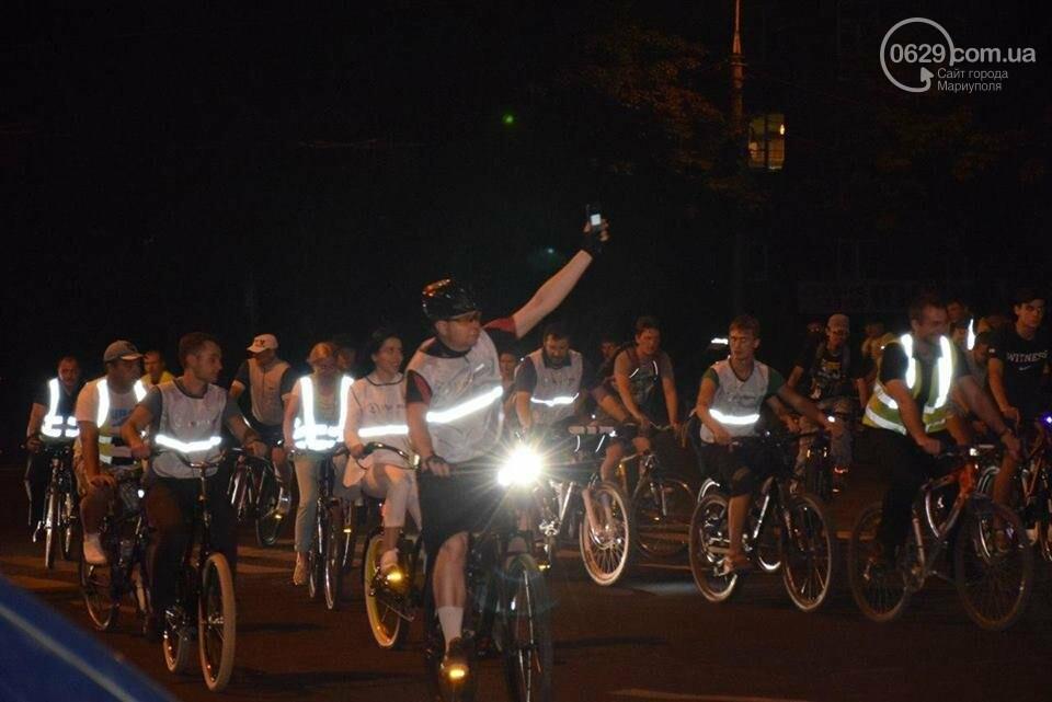 Мариупольские велосипедисты провели ночной заезд, чтобы их заметили(ФОТО), фото-4