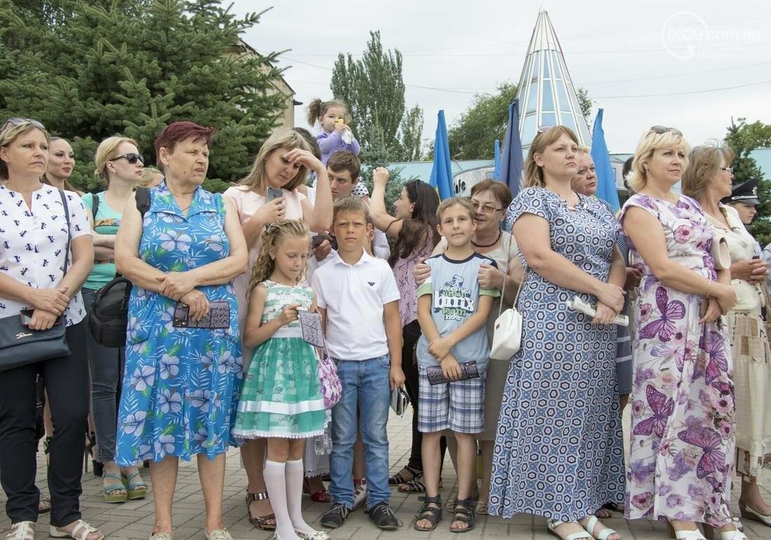 В Мариуполе копы-выпускники присягнули украинскому народу (ФОТО, ВИДЕО), фото-5