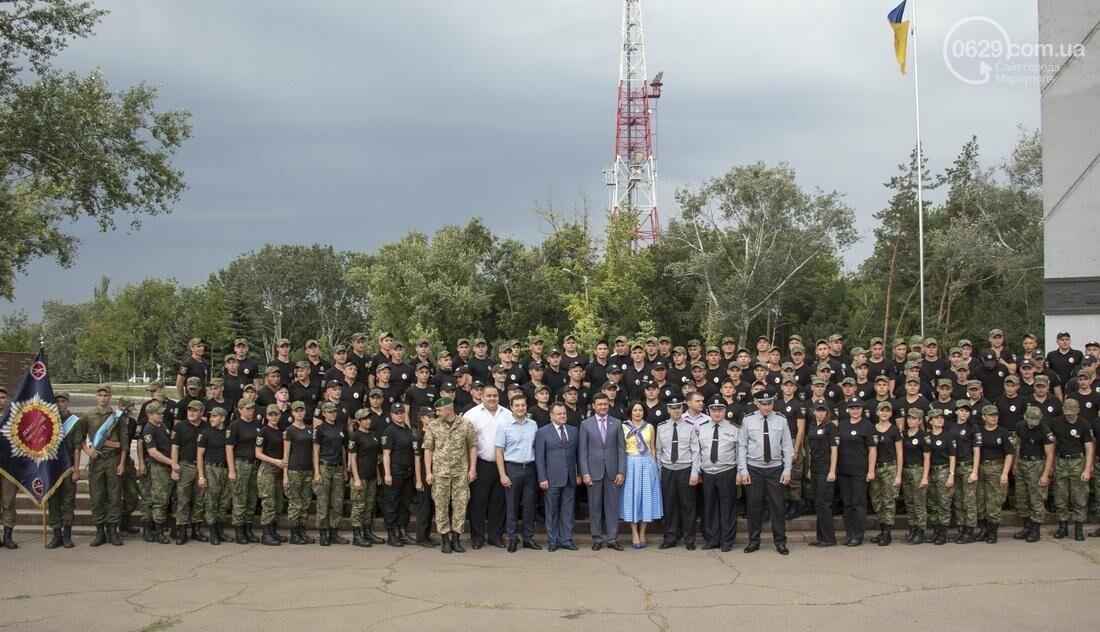 В Мариуполе копы-выпускники присягнули украинскому народу (ФОТО, ВИДЕО), фото-6
