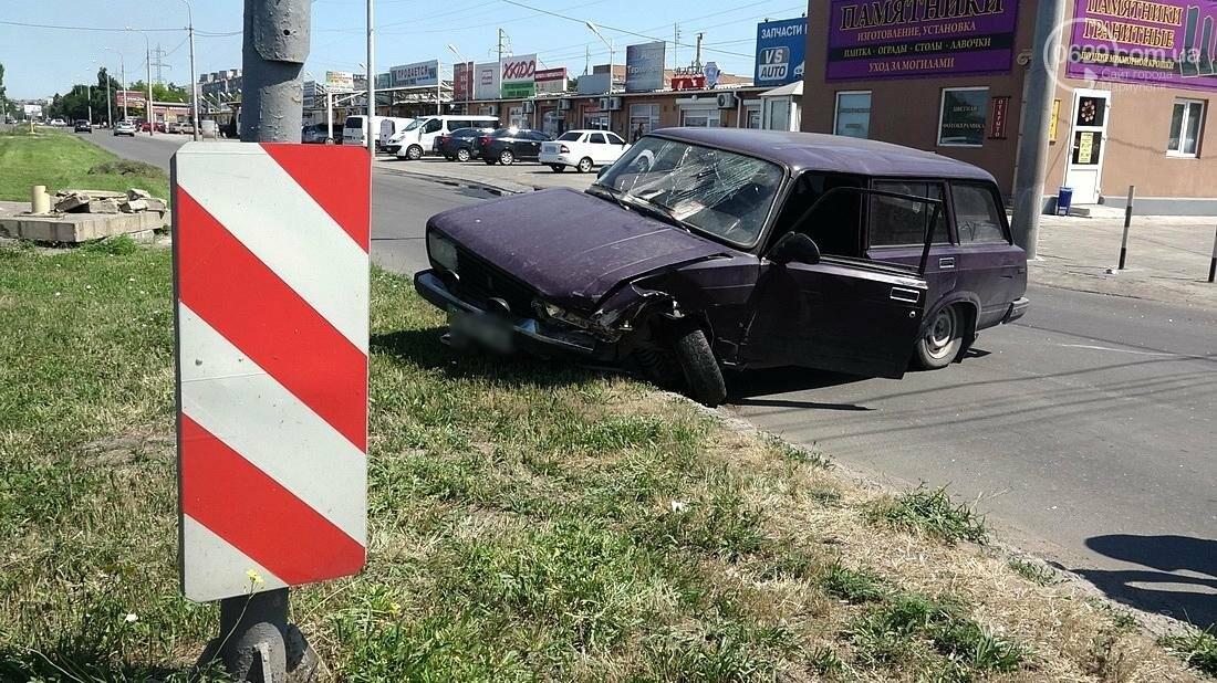 В Мариуполе на пересечении улиц Куприна и Митрополитской  произошло ДТП( ФОТО), фото-1