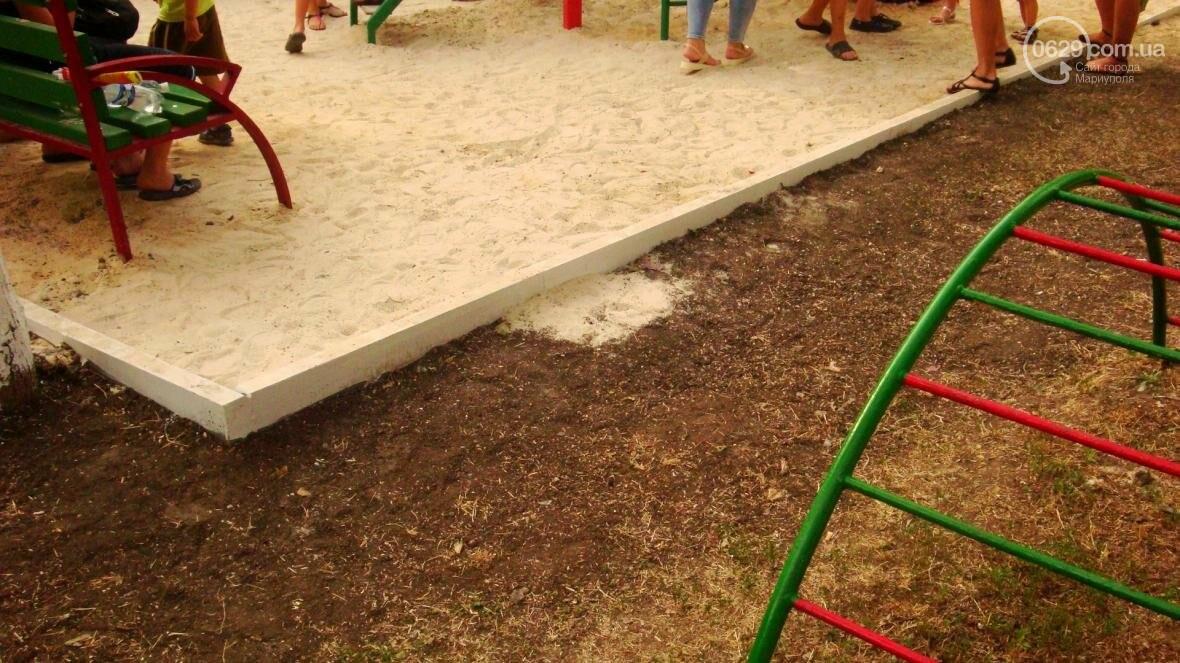 В Мариуполе построили детскую площадку на месте спиленного дерева (ФОТО, ДОПОЛНЕНО), фото-4