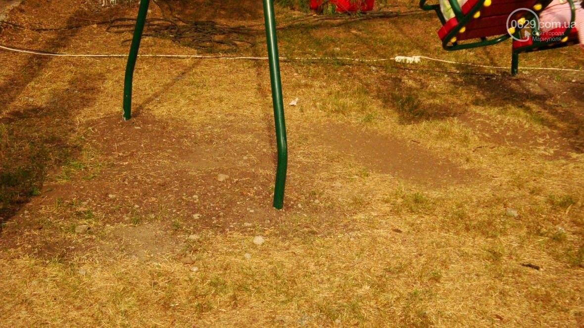В Мариуполе построили детскую площадку на месте спиленного дерева (ФОТО, ДОПОЛНЕНО), фото-5