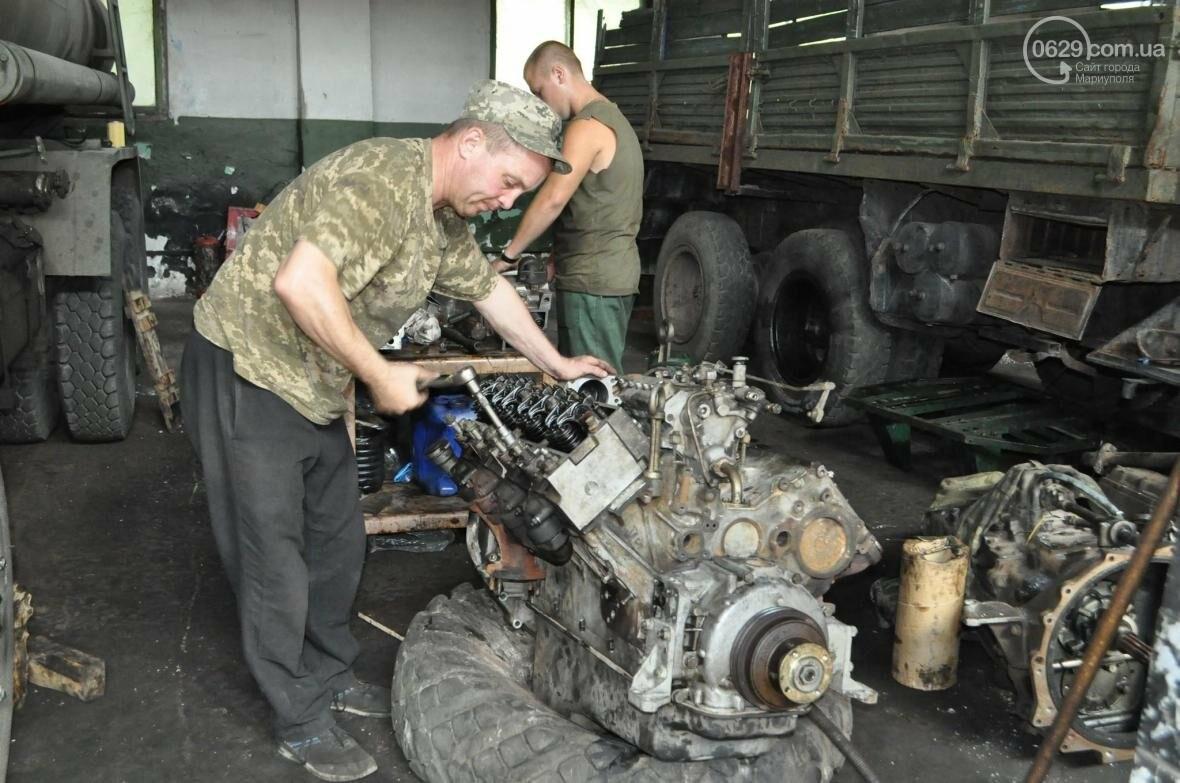 В секторе «Мариуполь» дарят «вторую» жизнь технике (ФОТО), фото-3