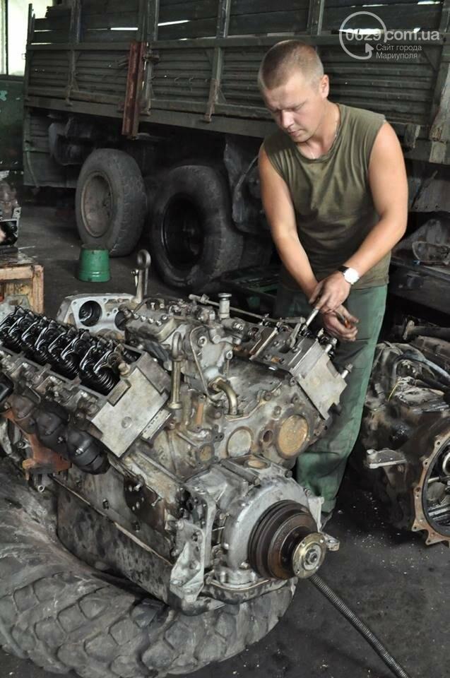 В секторе «Мариуполь» дарят «вторую» жизнь технике (ФОТО), фото-2