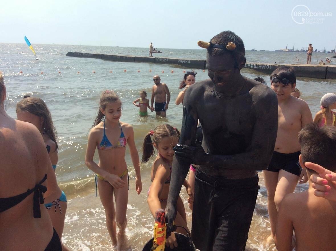 День Нептуна в Мариуполе: морские черти, пираты, целебные грязи и пять тонн вылитой воды(ФОТО, ВИДЕО), фото-5