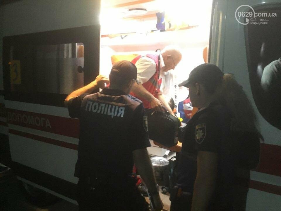 "В Мариуполе стреляли возле ночного клуба ""Барбарис"". Ранен мужчина (ВИДЕО), фото-5"