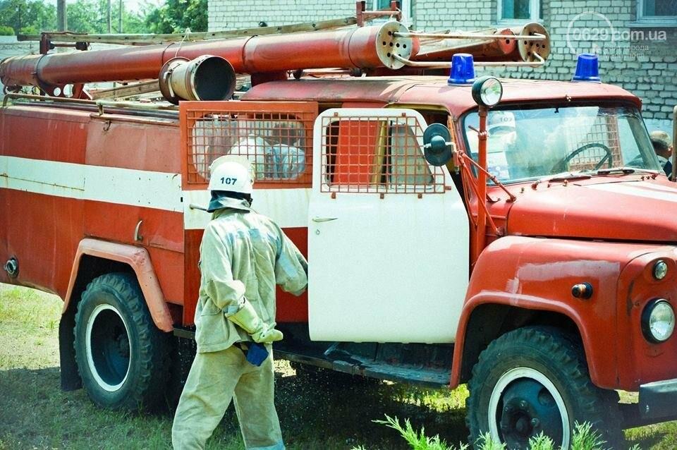 В Мариуполе осужденные женщины боролись с огнем (ФОТО), фото-4