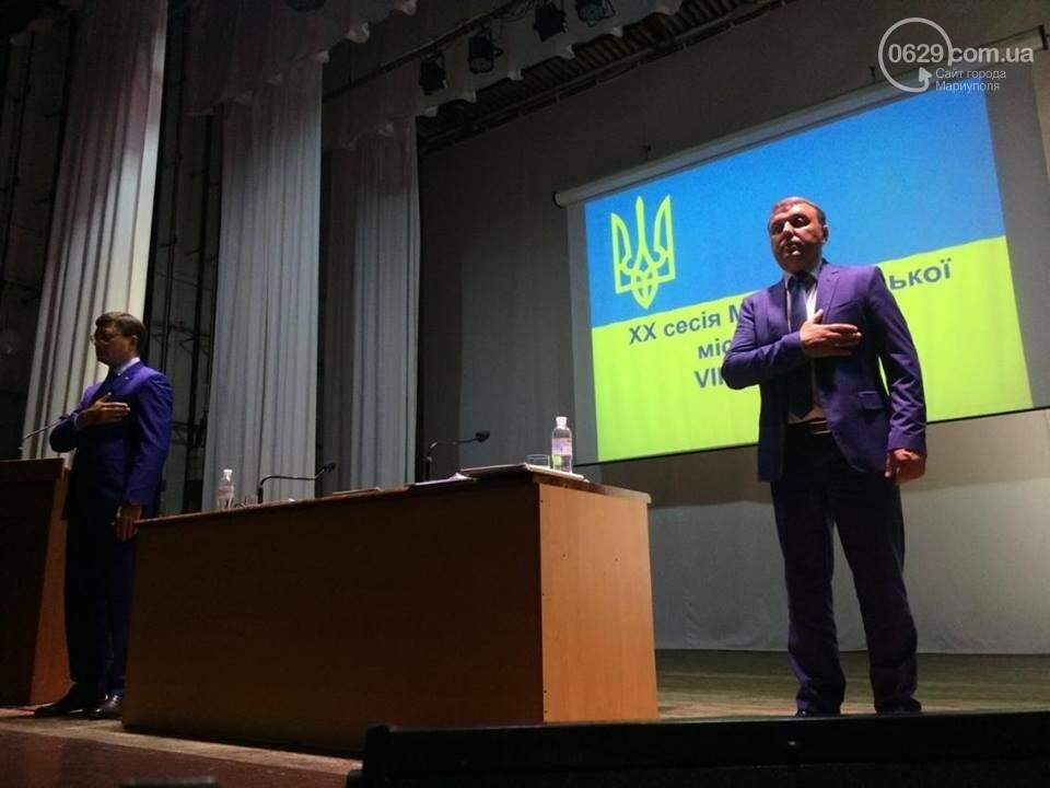 В Мариуполе стартовала сессия горсовета. Включили аварийный генератор( ФОТО), фото-3