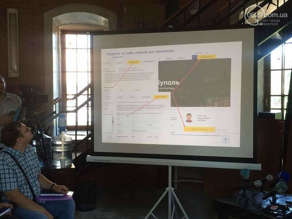 #ВадікнепроГАВив! Мэр Мариуполя презентует сайт в необычной футболке (ВИДЕО ОН-ЛАЙН), фото-3