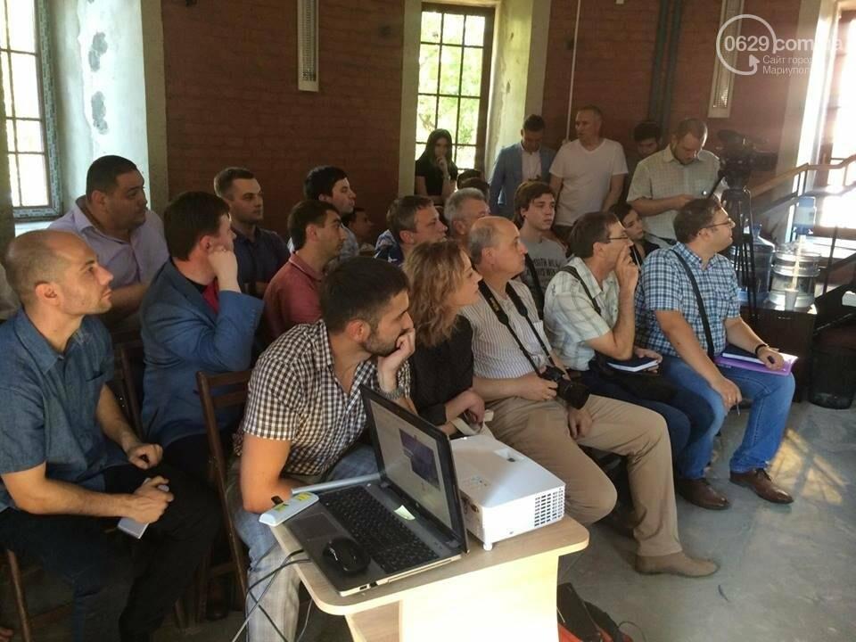 #ВадікнепроГАВив! Мэр Мариуполя презентует сайт в необычной футболке (ВИДЕО ОН-ЛАЙН), фото-4