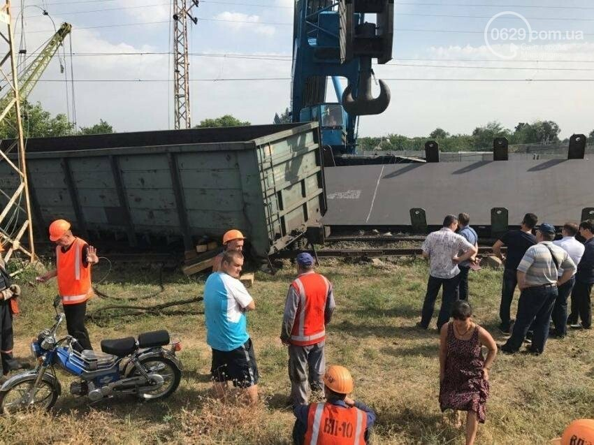 Поезд Киев-Мариуполь изменил маршрут из-за аварии в Днепропетровской области (ФОТО), фото-4