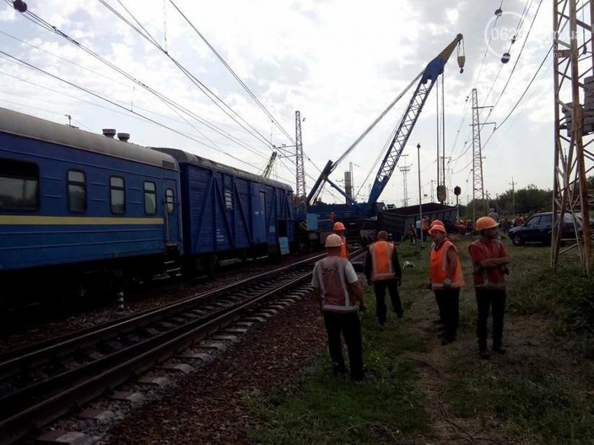 Поезд Киев-Мариуполь изменил маршрут из-за аварии в Днепропетровской области (ФОТО), фото-2
