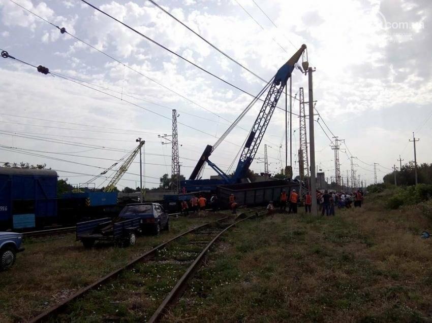 Поезд Киев-Мариуполь изменил маршрут из-за аварии в Днепропетровской области (ФОТО), фото-3