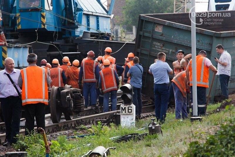 Поезд Киев-Мариуполь изменил маршрут из-за аварии в Днепропетровской области (ФОТО), фото-1