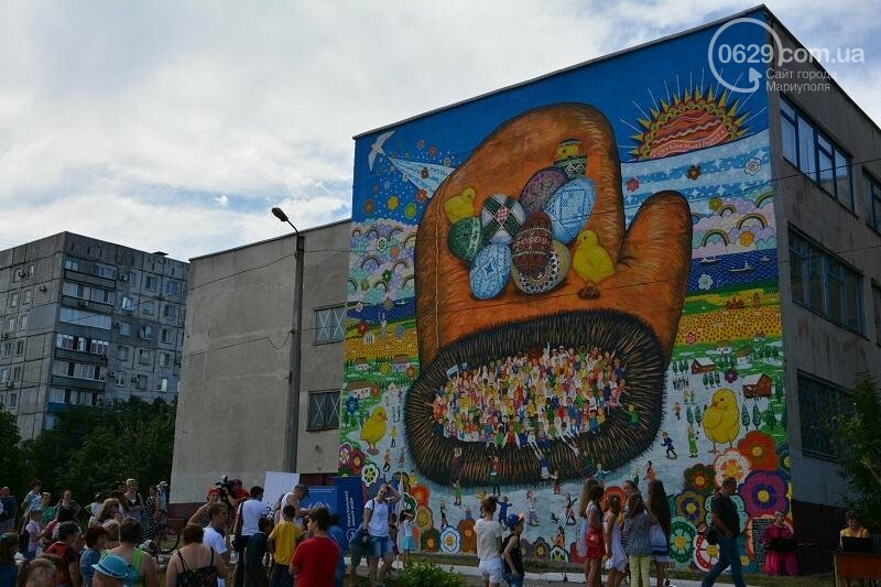 В Мариуполе появилась варежка мира (ФОТО), фото-1