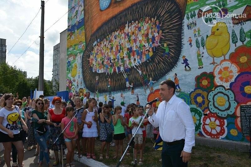 В Мариуполе появилась варежка мира (ФОТО), фото-2