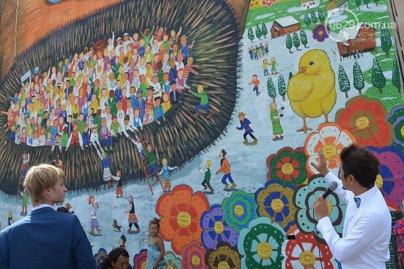 В Мариуполе появилась варежка мира (ФОТО), фото-3