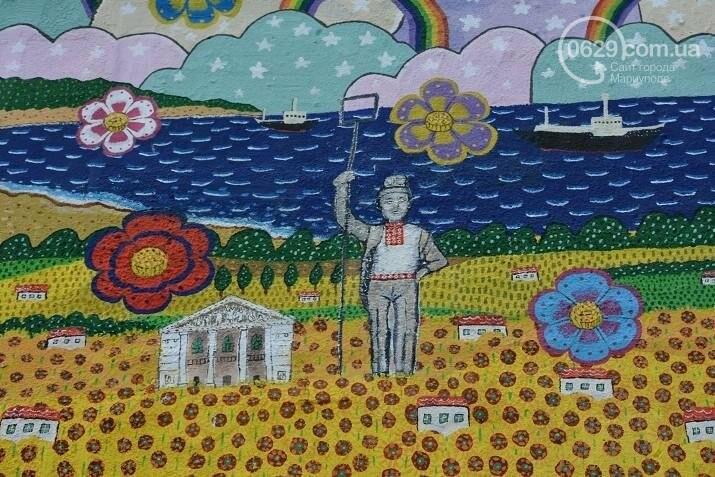В Мариуполе появилась варежка мира (ФОТО), фото-5
