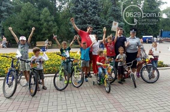 В Мариуполе полицейские проверили знания Правил дорожного движения у детей (ФОТО), фото-1