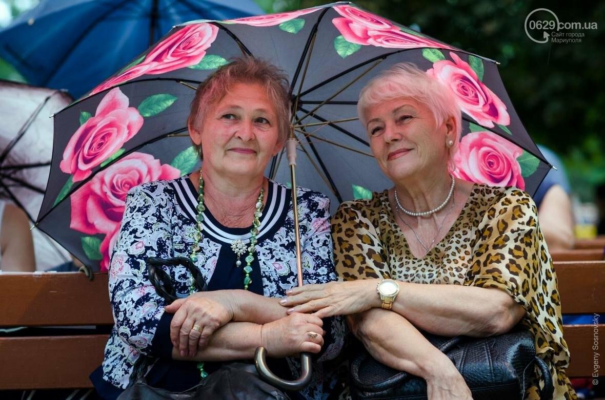Мариупольцы под дождем слушали песни Высоцкого  (ФОТОРЕПОРТАЖ), фото-10