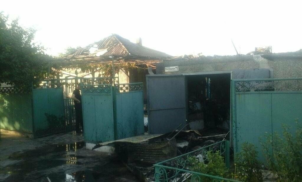 В Мариуполе на пожаре погиб хозяин дома (Фотофакт), фото-2