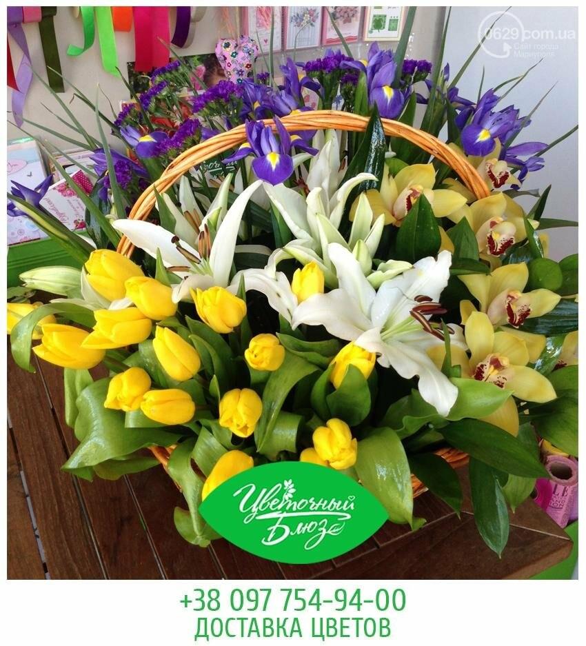 Открытие цветочного салона Flower Bluse, фото-3