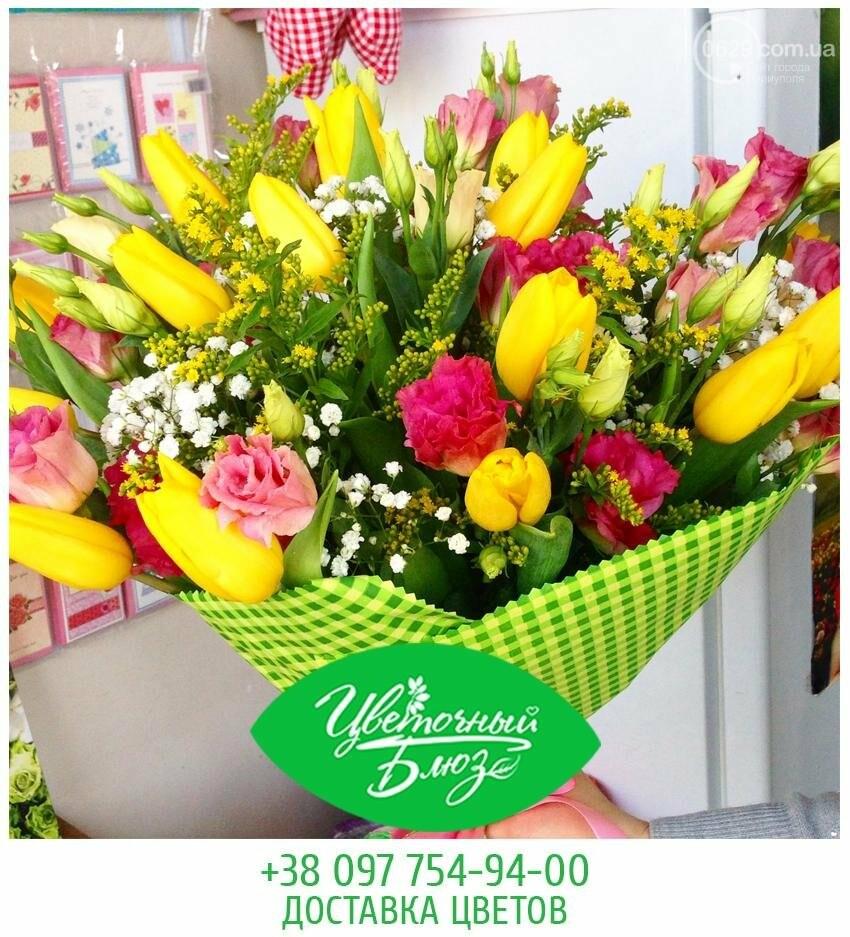 Открытие цветочного салона Flower Bluse, фото-4