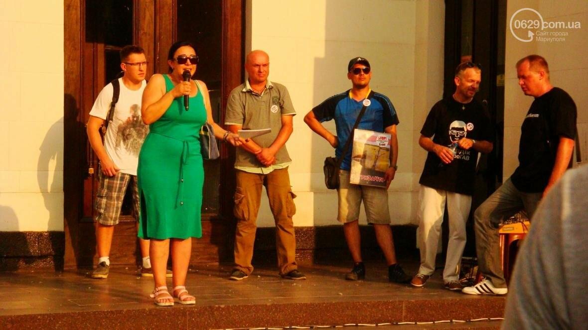 Мариупольцы протестовали по поводу повышения тарифов в транспорте (ФОТО), фото-9