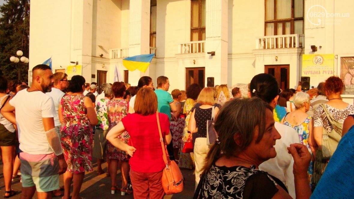 Мариупольцы протестовали по поводу повышения тарифов в транспорте (ФОТО), фото-3
