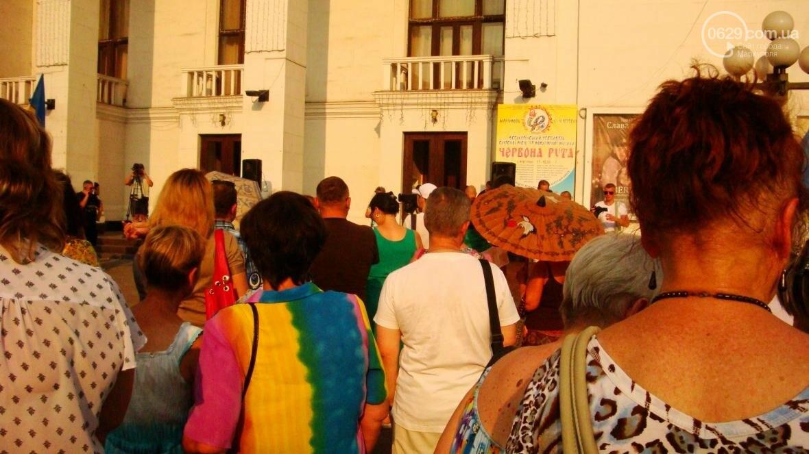 Мариупольцы протестовали по поводу повышения тарифов в транспорте (ФОТО), фото-6