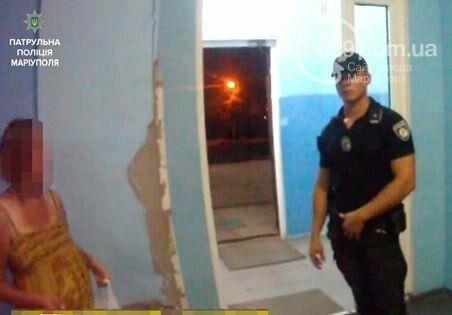 В Мариуполе патрульные полицейские спасли беременную девушку, фото-1