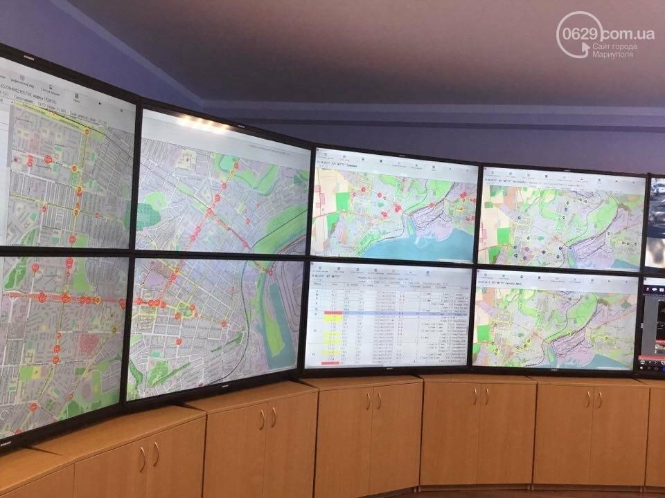 В Мариуполе за маршрутками теперь следят по GPS (ВИДЕО), фото-1