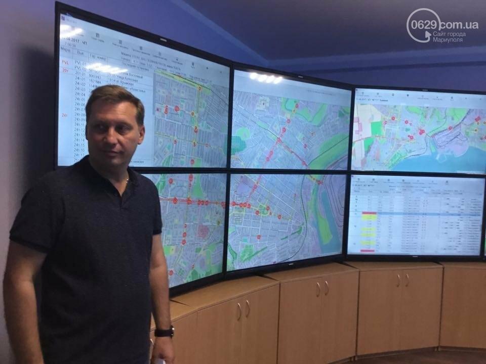 В Мариуполе за маршрутками теперь следят по GPS (ВИДЕО), фото-5