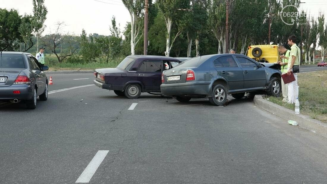 В Мариуполе в результате ДТП на Набережной пострадали 4 человека (ФОТО), фото-7