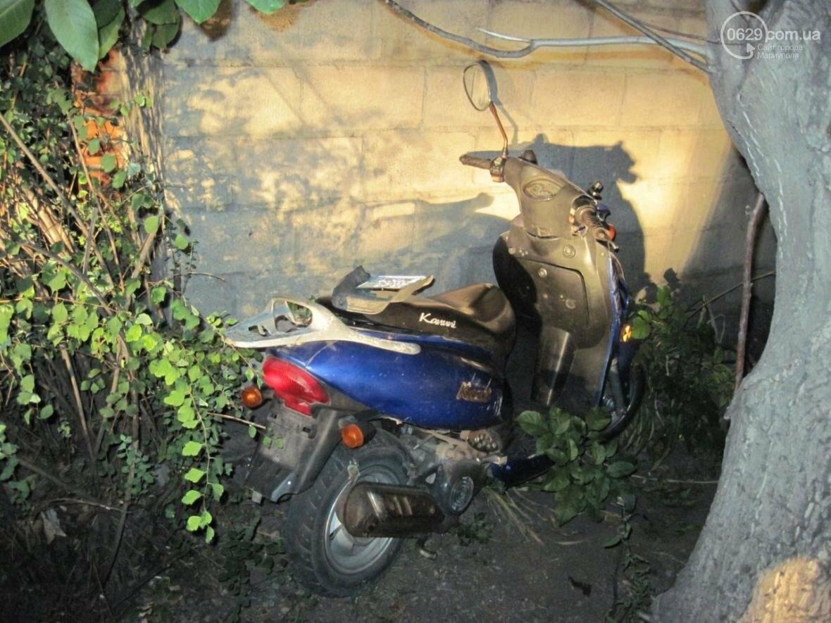 В Мариуполе мужчина угнал мопед прямо со двора (ФОТО), фото-2