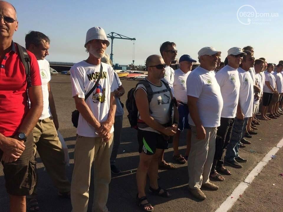 В Мариуполе на фоне  открыли парусную регату (ФОТО, ВИДЕО), фото-15