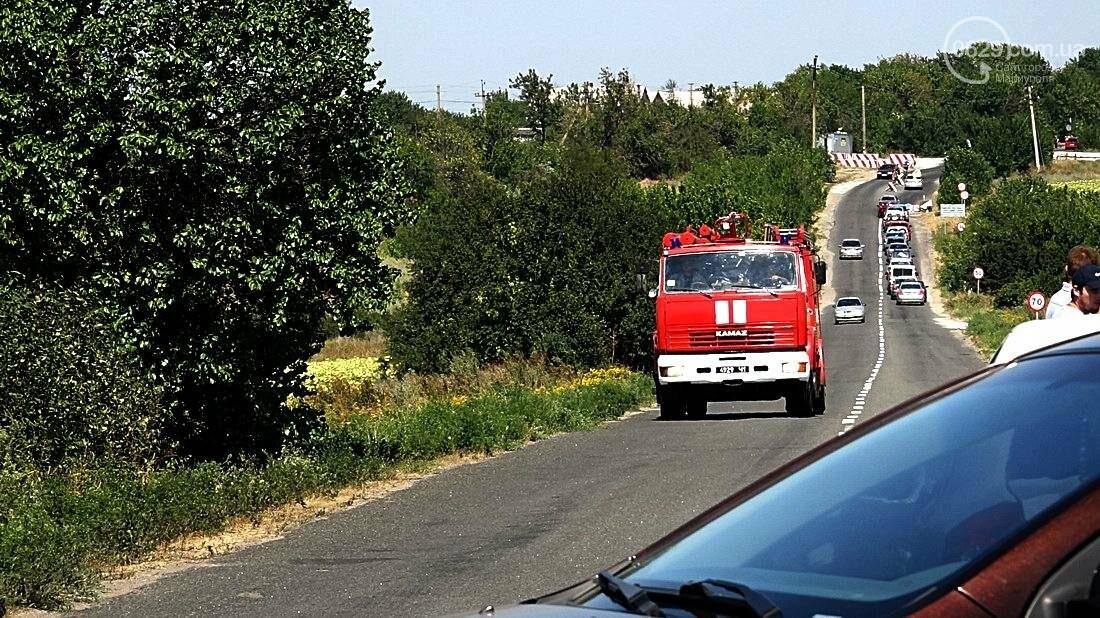 На въезде в Мариуполь столкнулись 5 автомобилей. Есть пострадавшие (ФОТО), фото-21