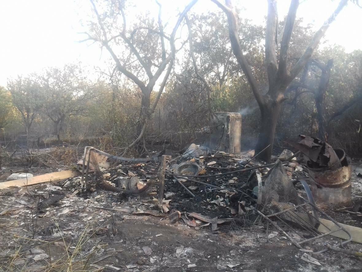 В Мариуполе  сгорело тридцать домов  в результате пожара на строительном складе (ФОТО, ВИДЕО), фото-5